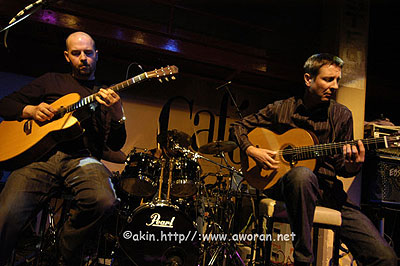 Acoustic Alchemy at the Jazz Cafe, London. 2005