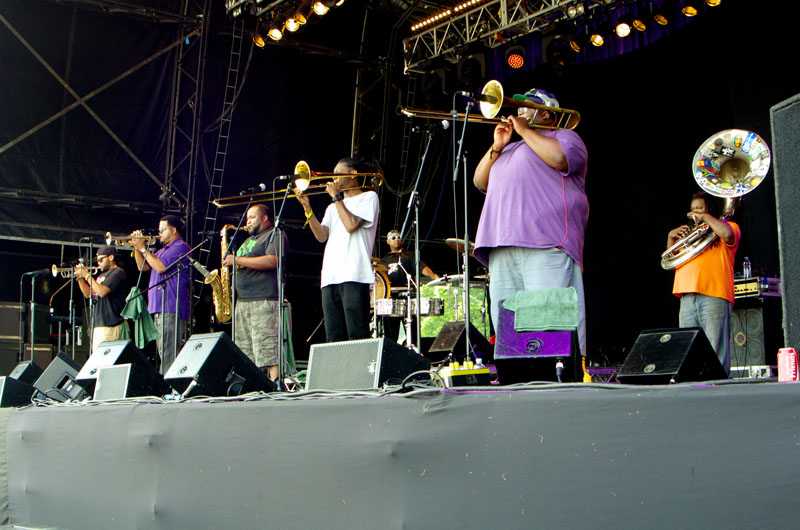 Soul rebels, love supreme jazz festival