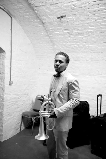 Roy Hargrove: Portrait, Brecon, 2008