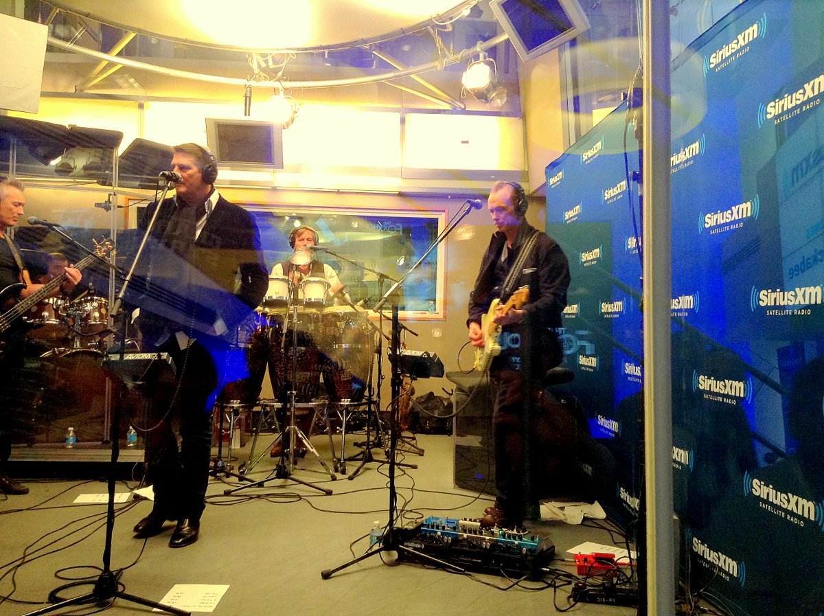 Spandau Ballet Perform at Siriusxm Studios for Their Artist Confidential Session on 1-20-2015.
