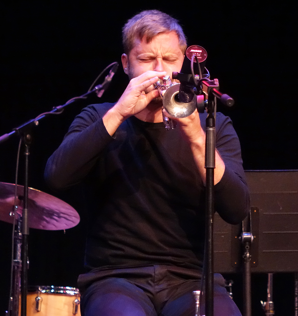 Peter Evans at Guelph Jazz Festival 2015
