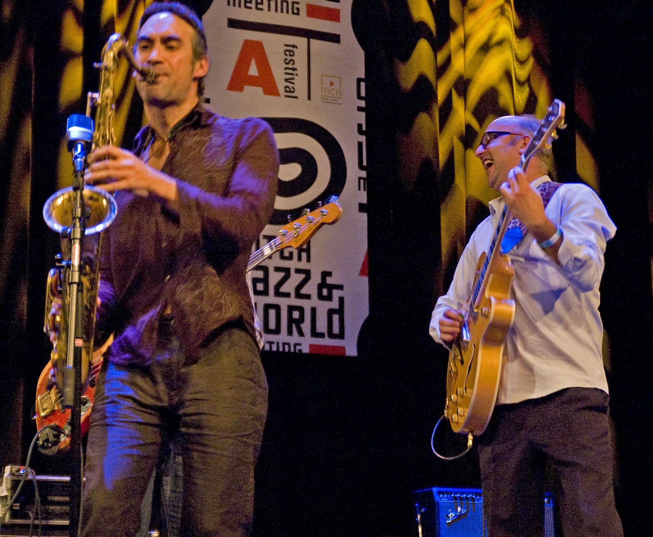 The Ploctones, Dutch Jazz & World Meeting, December 2, 2010