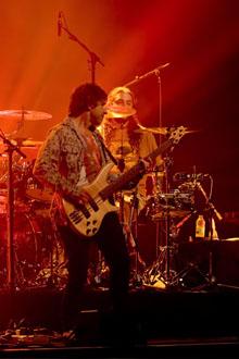 Pete Trewevas, Mike Portnoy, Transatlantic, Montreal, Canada April 21, 2010