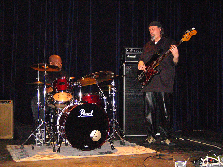 Bill Laswell and Lance Carter with Robert Musso Trio - Bowery Poetry Club 2004