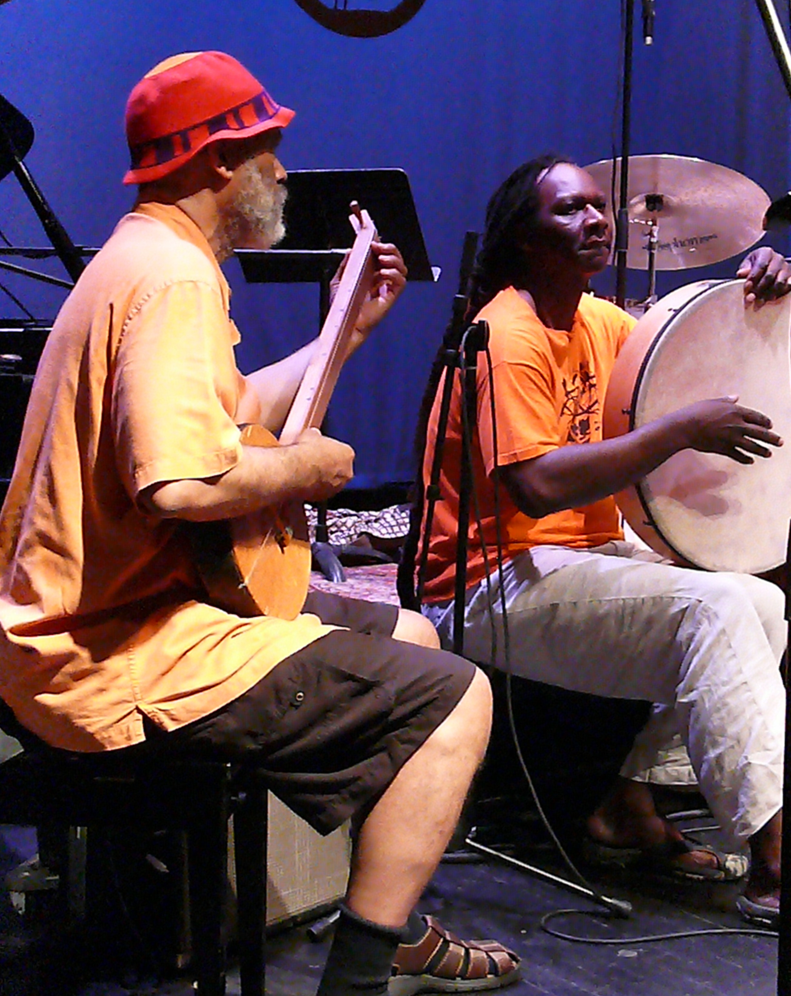 Cooper-Moore and Hamid Drake at Vision Festival 2010