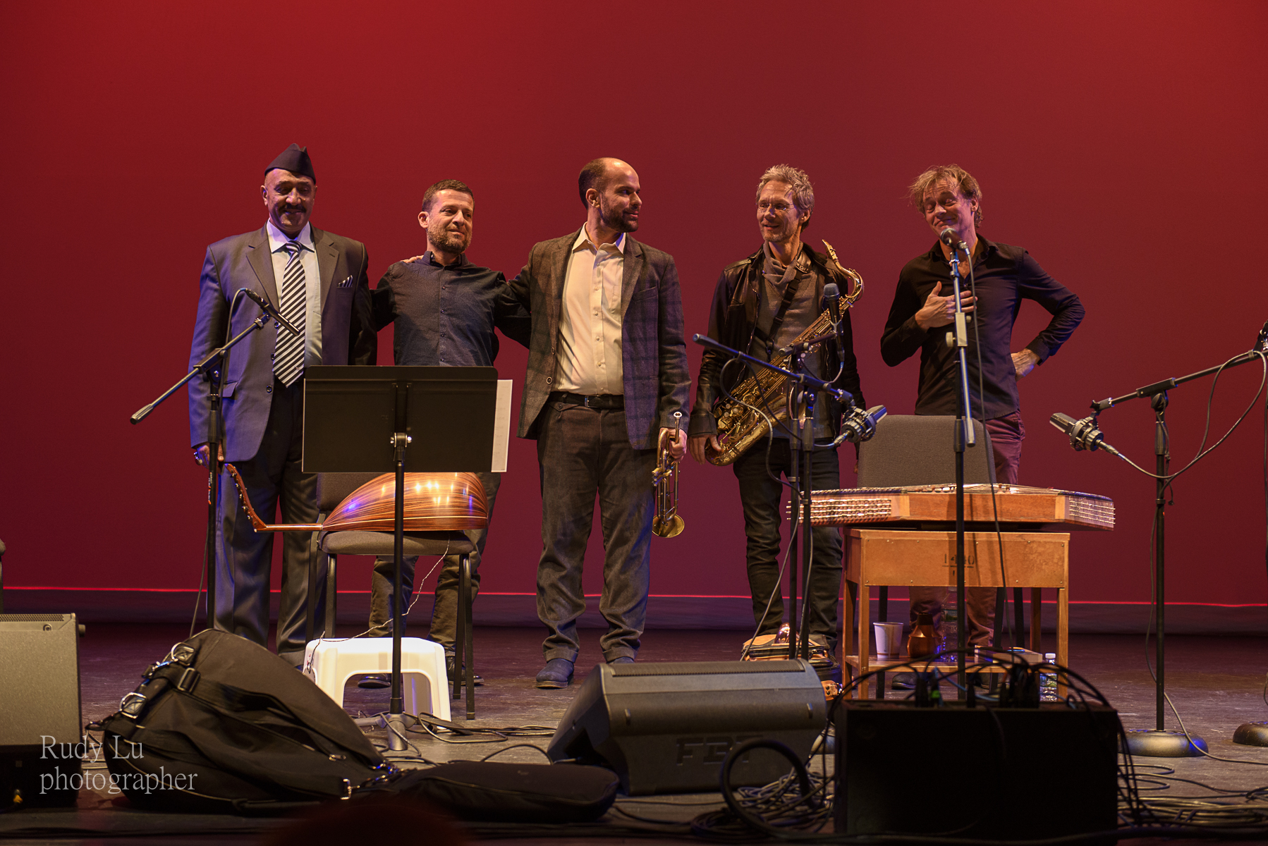 Two Rivers Ensemble with Hamid AlSaadi