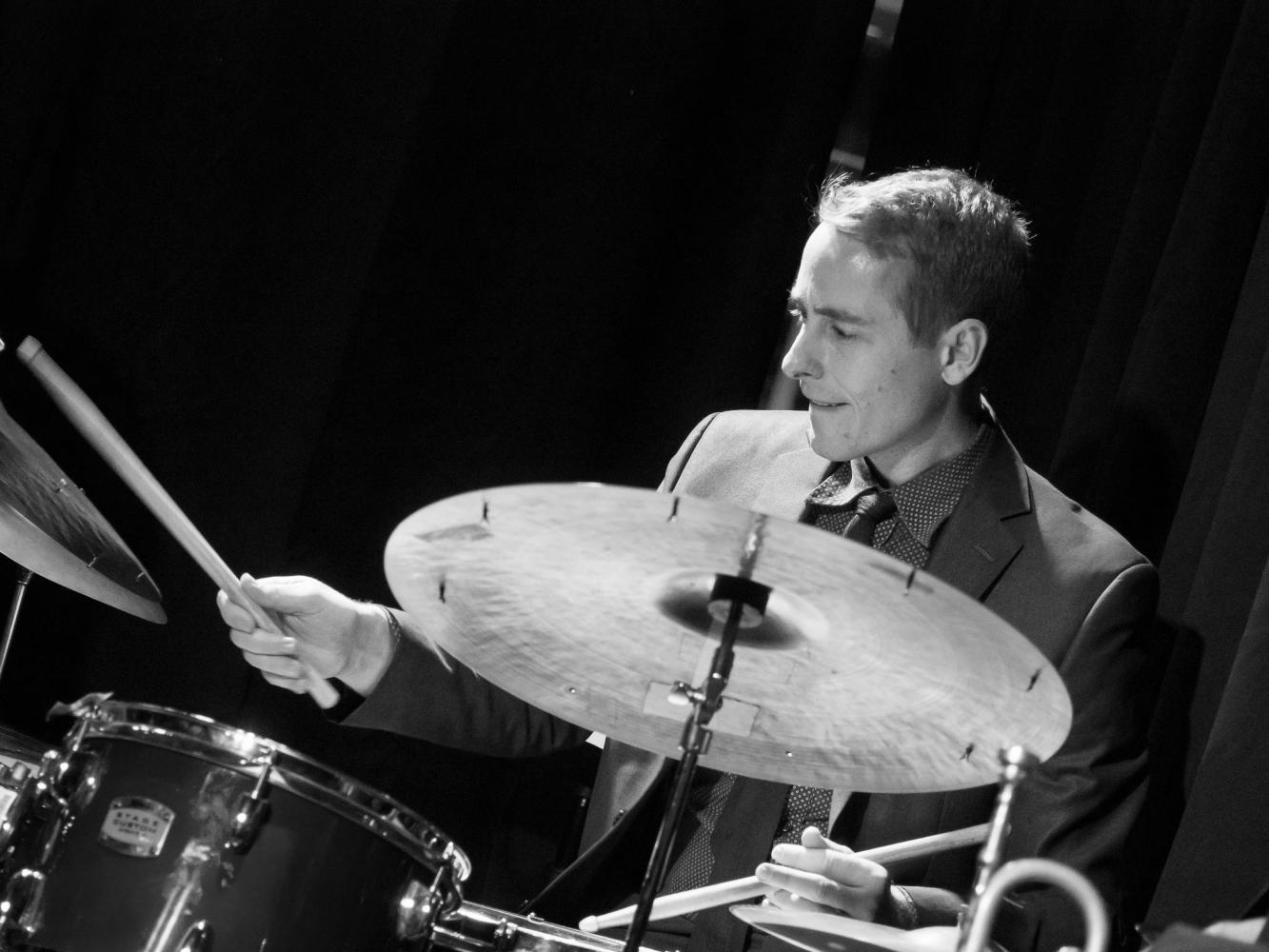 Joe Poole, drums