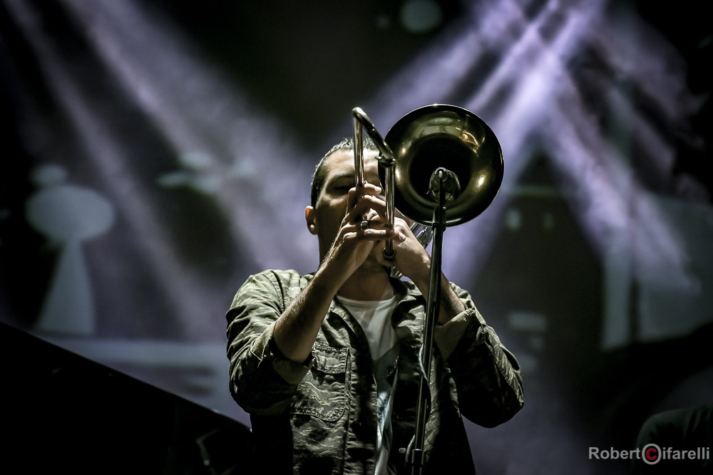 Gianluca Petrella Time in jazz 2018