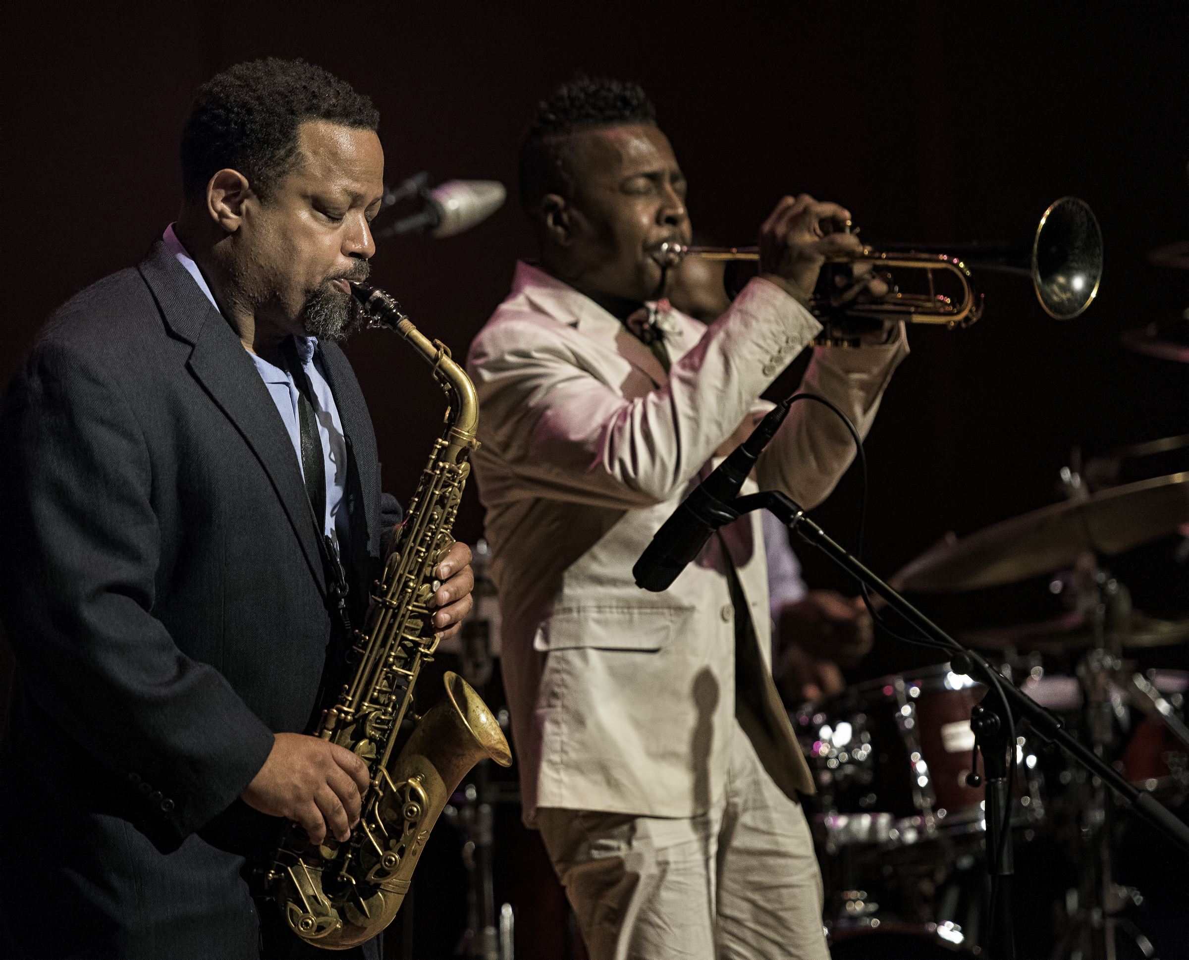 Justin Robinson And Roy Hargrove With Quintet At The Musical Instrument Museum (mim) In Phoenix