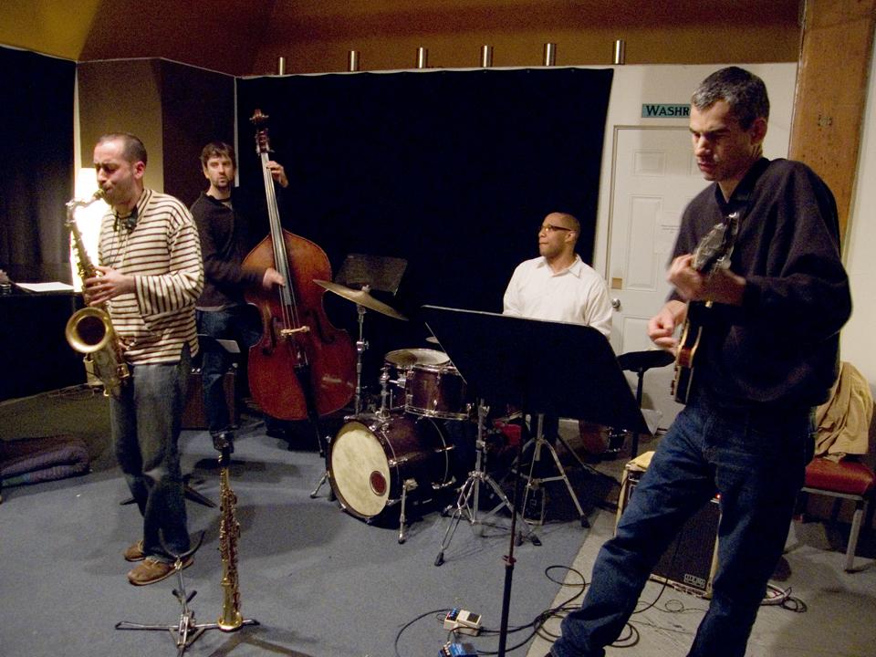 Jerome Sabbagh Quartet with Ben Monder, Joe Martin and Otis Brown III - Cim 200707