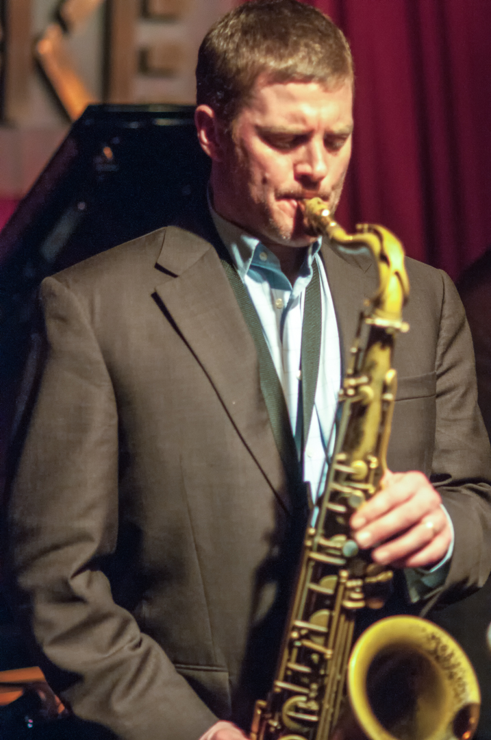 Eric Alexander with the Mabern Alexander Quartet at the John at the John Coltrane Festival at Smoke Jazz Club