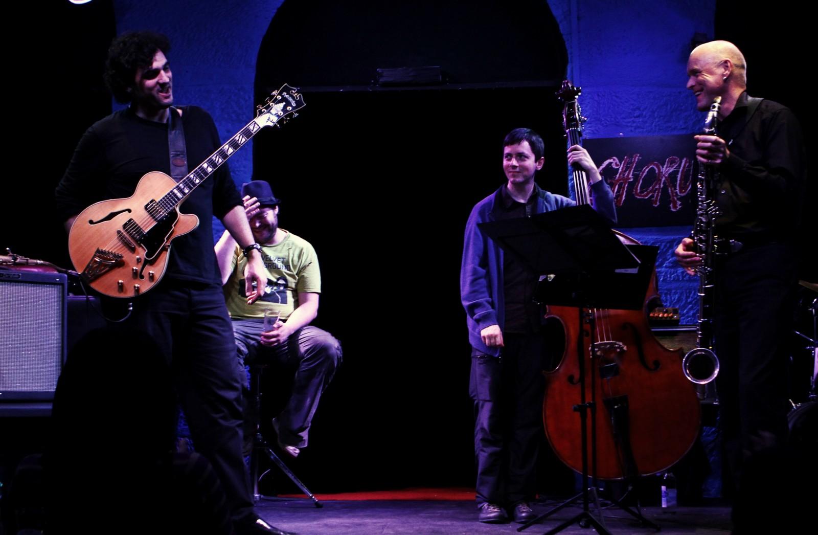 Scott DuBois Quartet live in Lausanne, Switzerland
