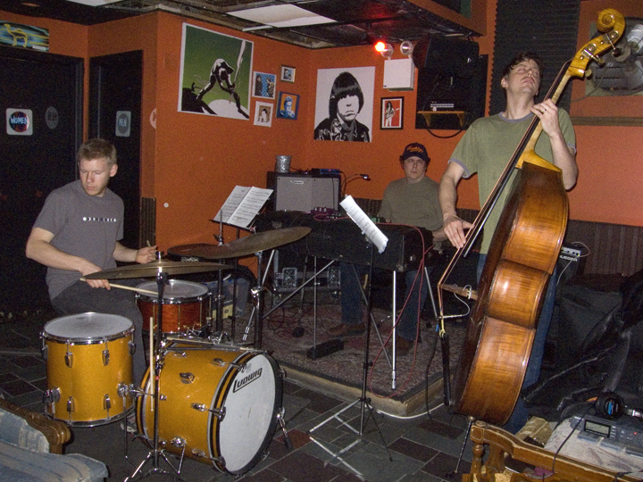 James Carney Trio (w/Chris Lightcap and Ted Poor) - Bar4 2007