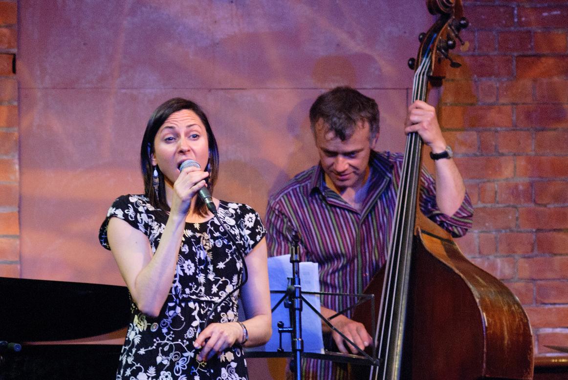 Georgia Mancio and Arnie Somogyi