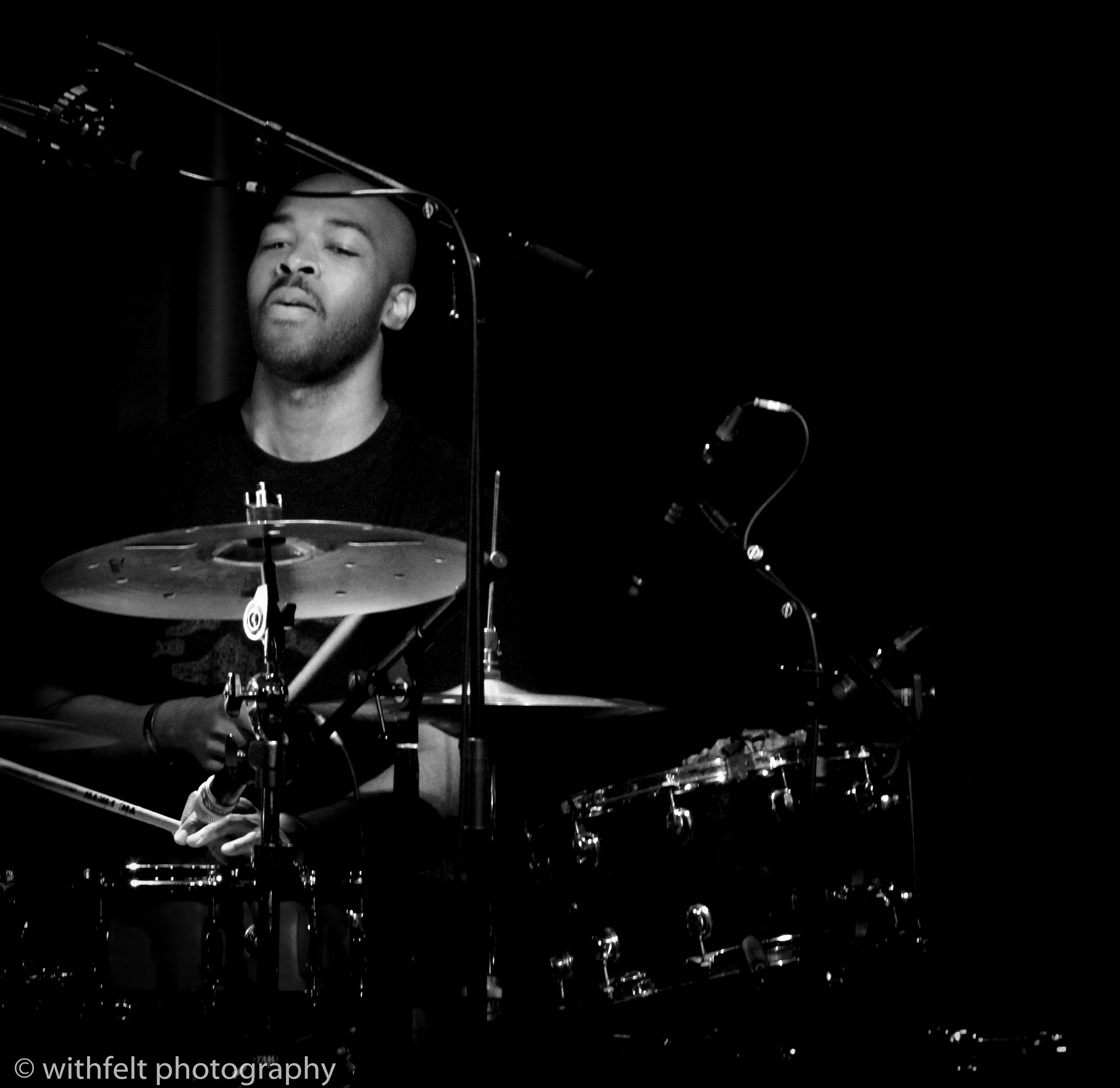 Eric Harland at Copenhagen Jazz Festival 2014 in Copenhagen, Denmark