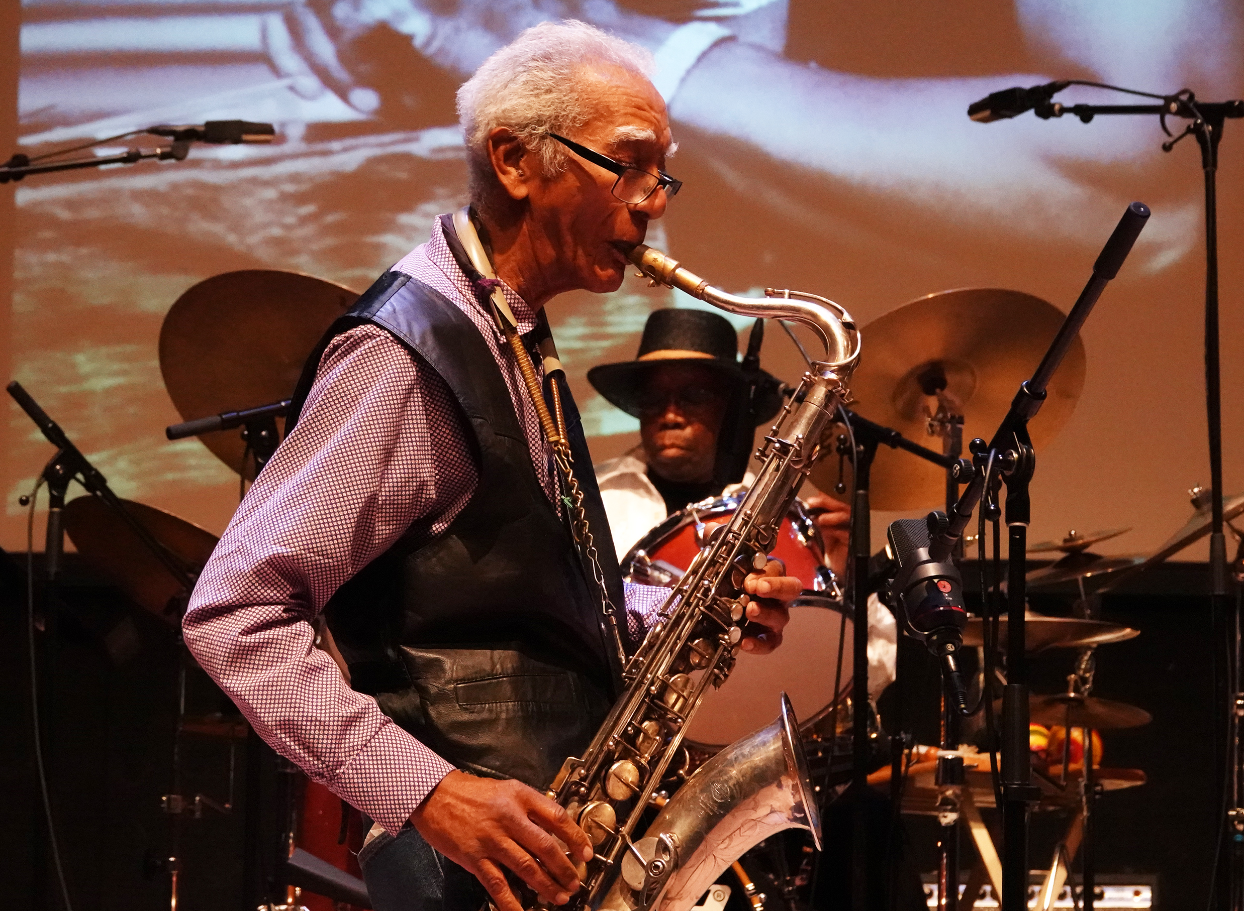 Kidd Jordan & Andrew Cyrille at 24th Annual Vision Festival