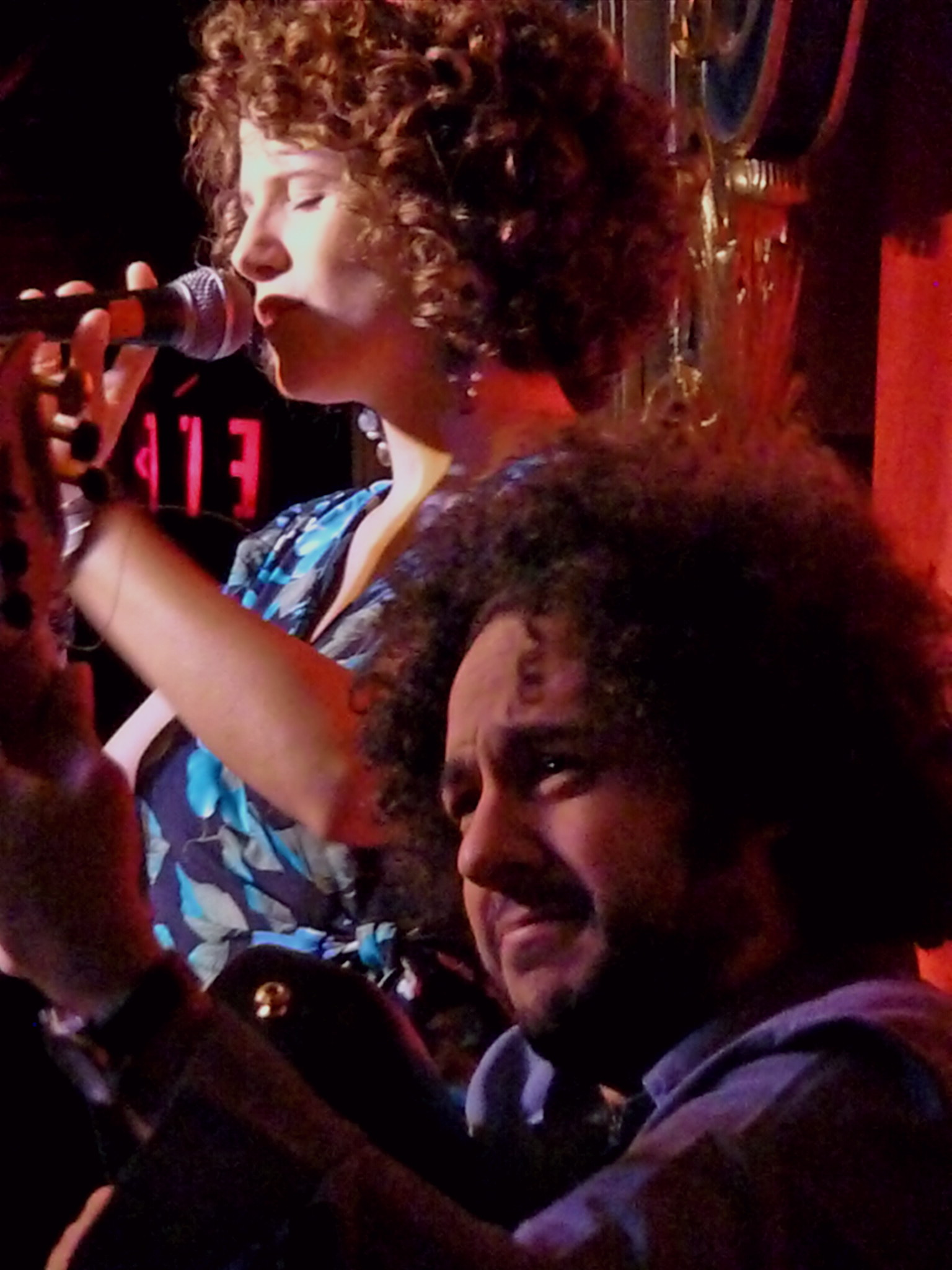 Cyrille Aimee & Diego Figueiredo at Nighttown, Sept. 27, 2011