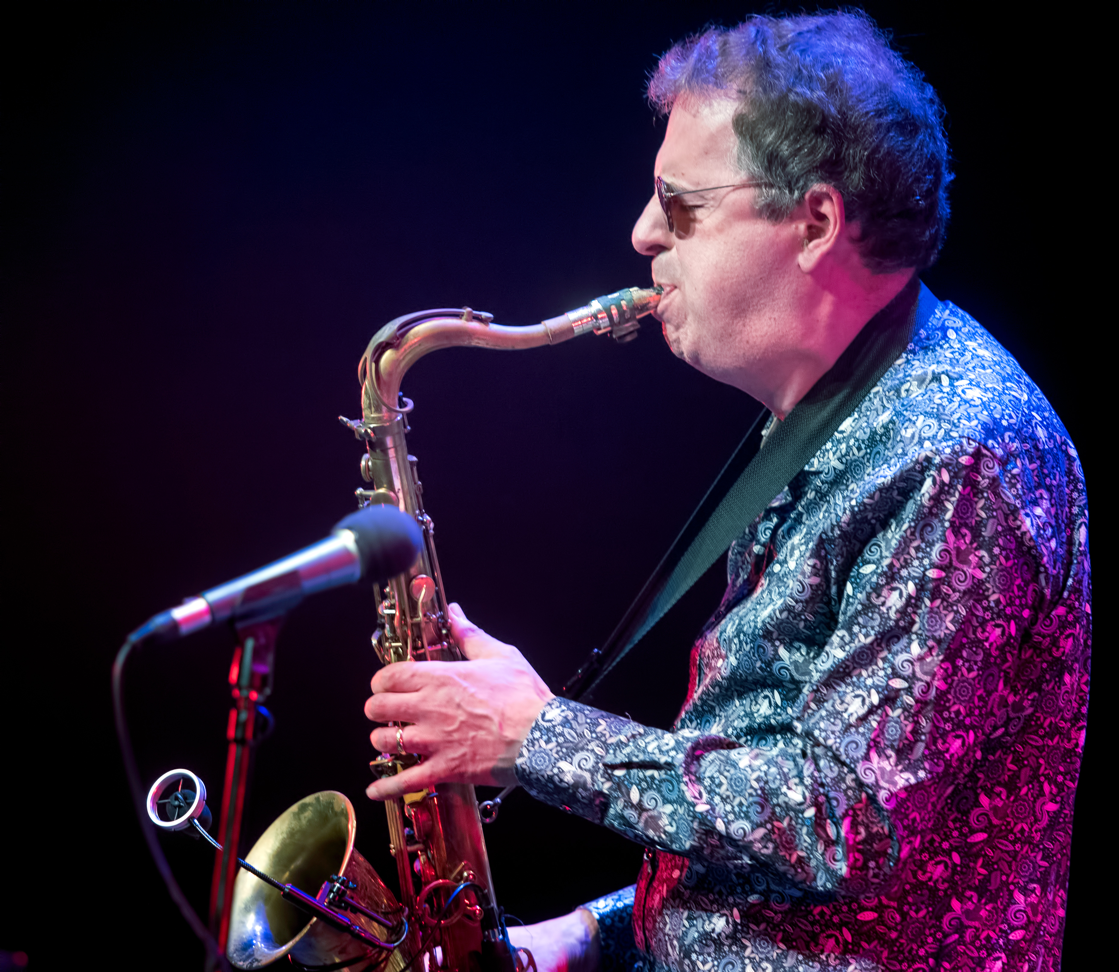 Theo Travis with Soft Machine at The Montreal International Jazz Festival 2018