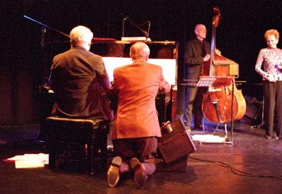 John Horler with Trusty Servant Don Lusher 1427801 Hawth Crawley 4.06 Images of Jazz