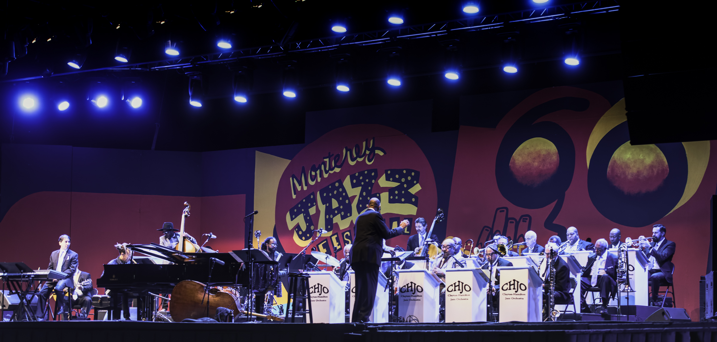 John Clayton and the Clayton-Hamilton Jazz Orchestra at the Monterey Jazz Festival
