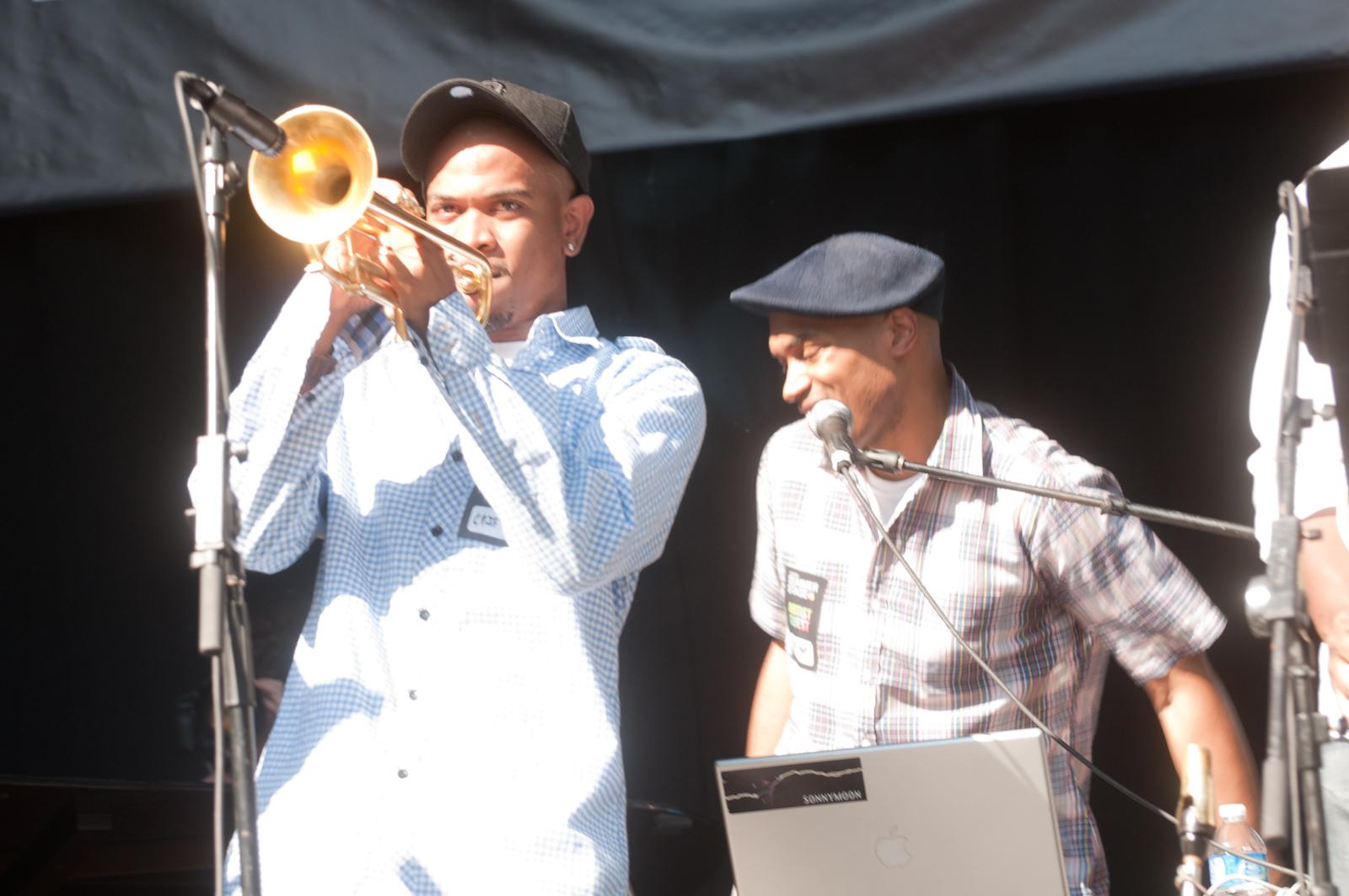 Igmar Thomas and Raydar Ellis at Charlie Parker Festival 2010