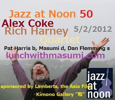 Jazz at Noon 50 5/2/2012