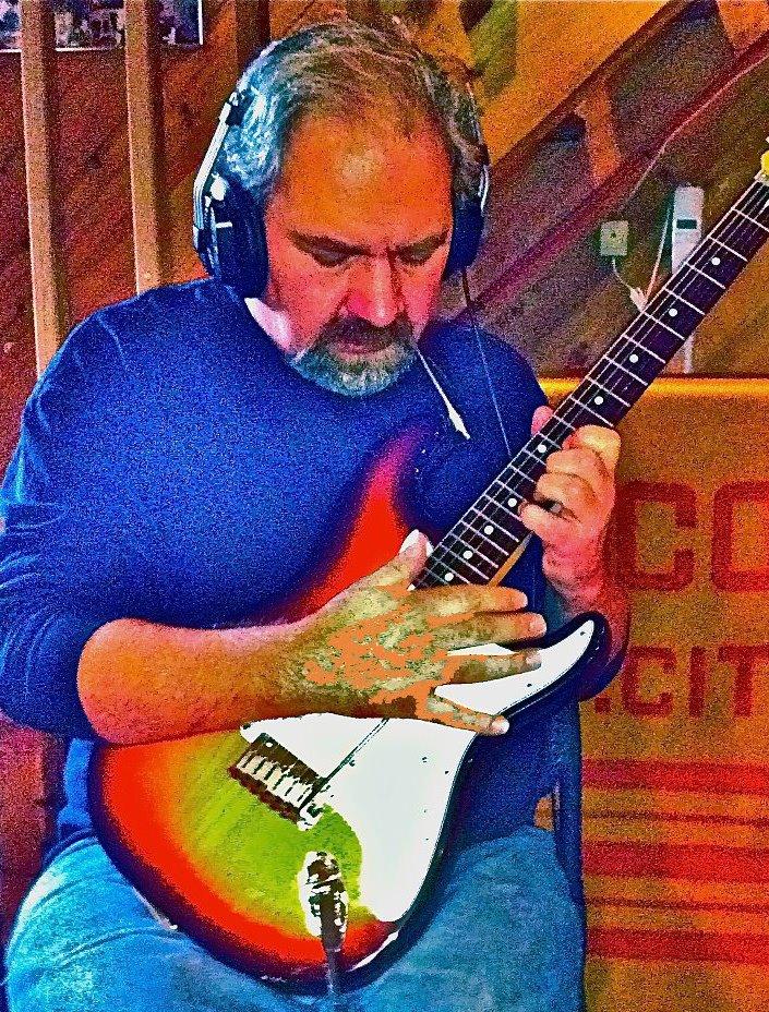 Jack Desalvo During K3rnelpan1c Recording Session