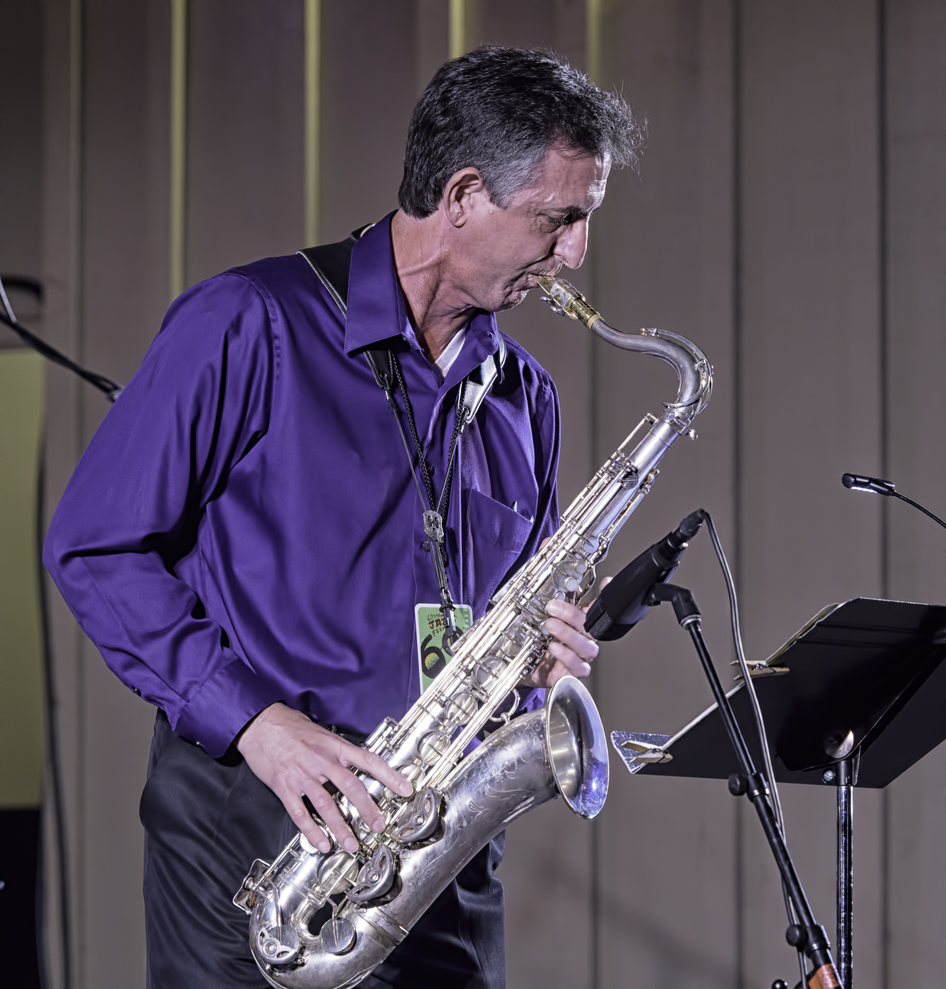 Paul Tarantino with Along Came Betty at the Monterey Jazz Festival
