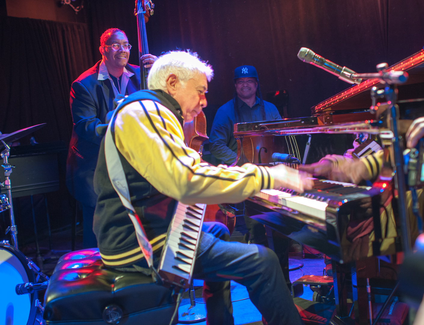 Monty Alexander at le Poisson Rouge at Winter Jazzfest 2013