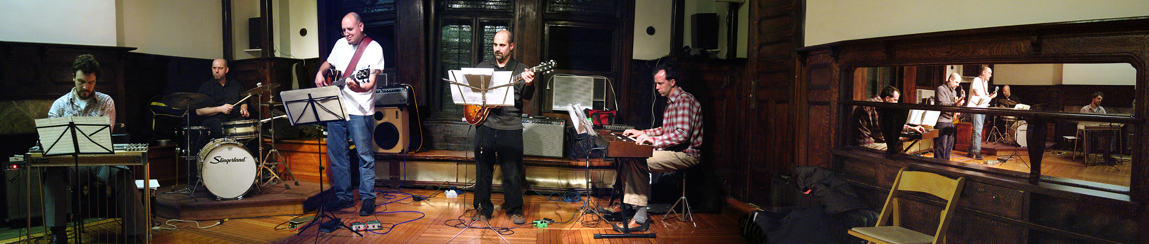 J.A. Granelli and Mr Lucky with Tony Romano, Nate Shaw, Gerald Menke &Amp; Diego Voglino - Brooklyn Society for Ethical Culture