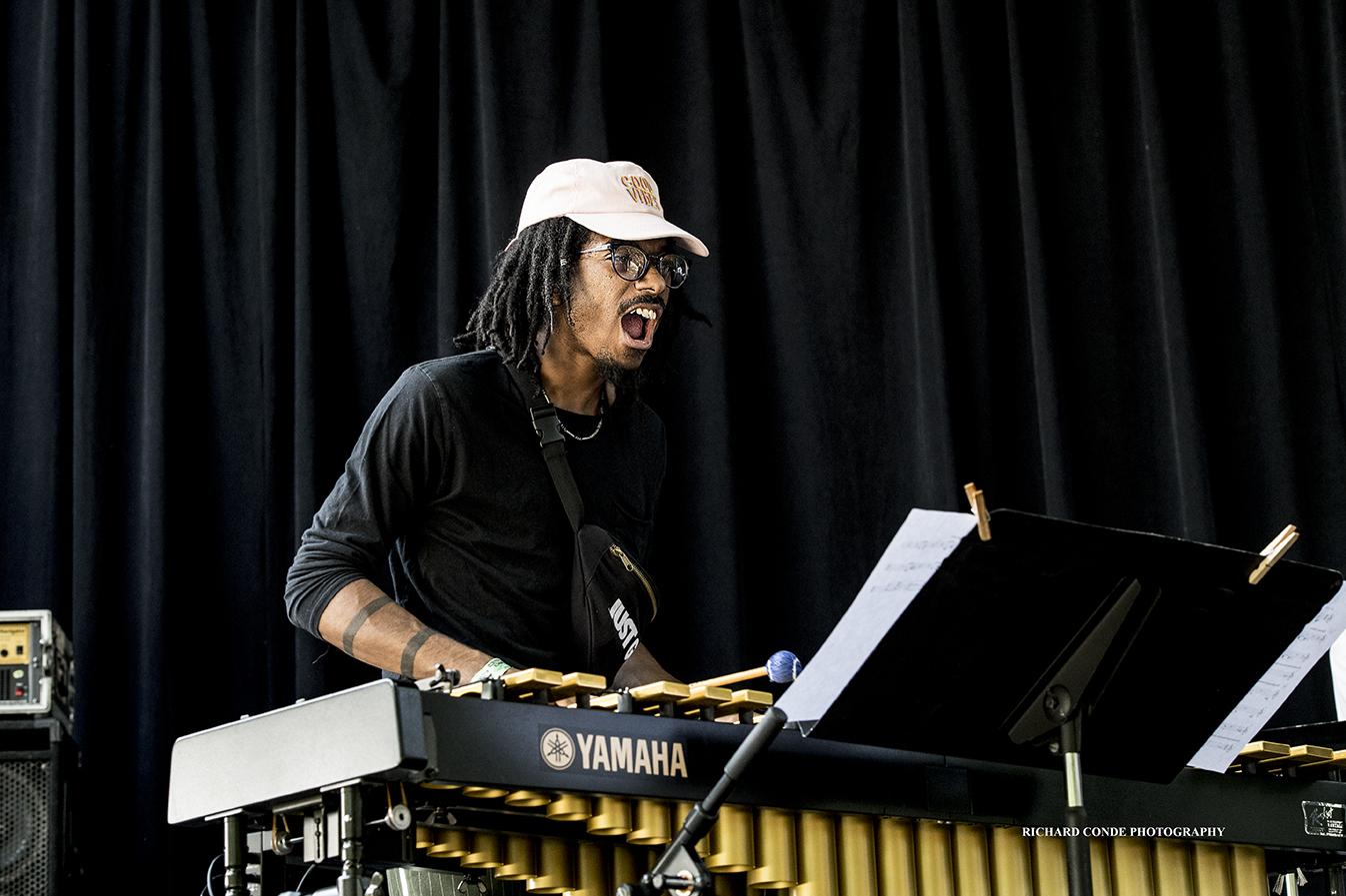 Joel Ross at the 2018 Charlie Parker Jazz Festival