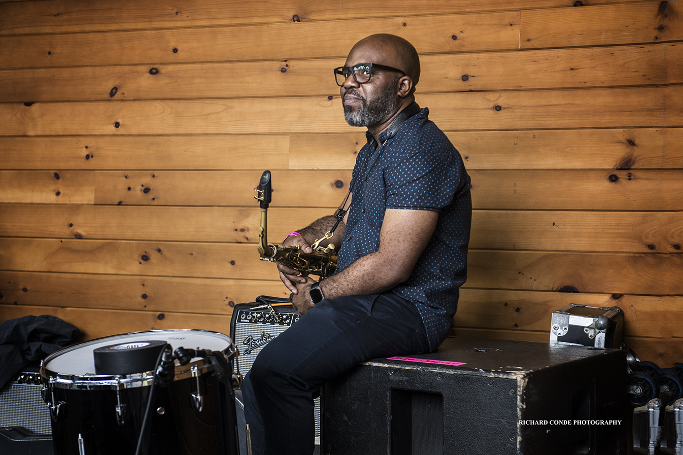 Jaleel Shaw at the Saratoga Jazz Festival