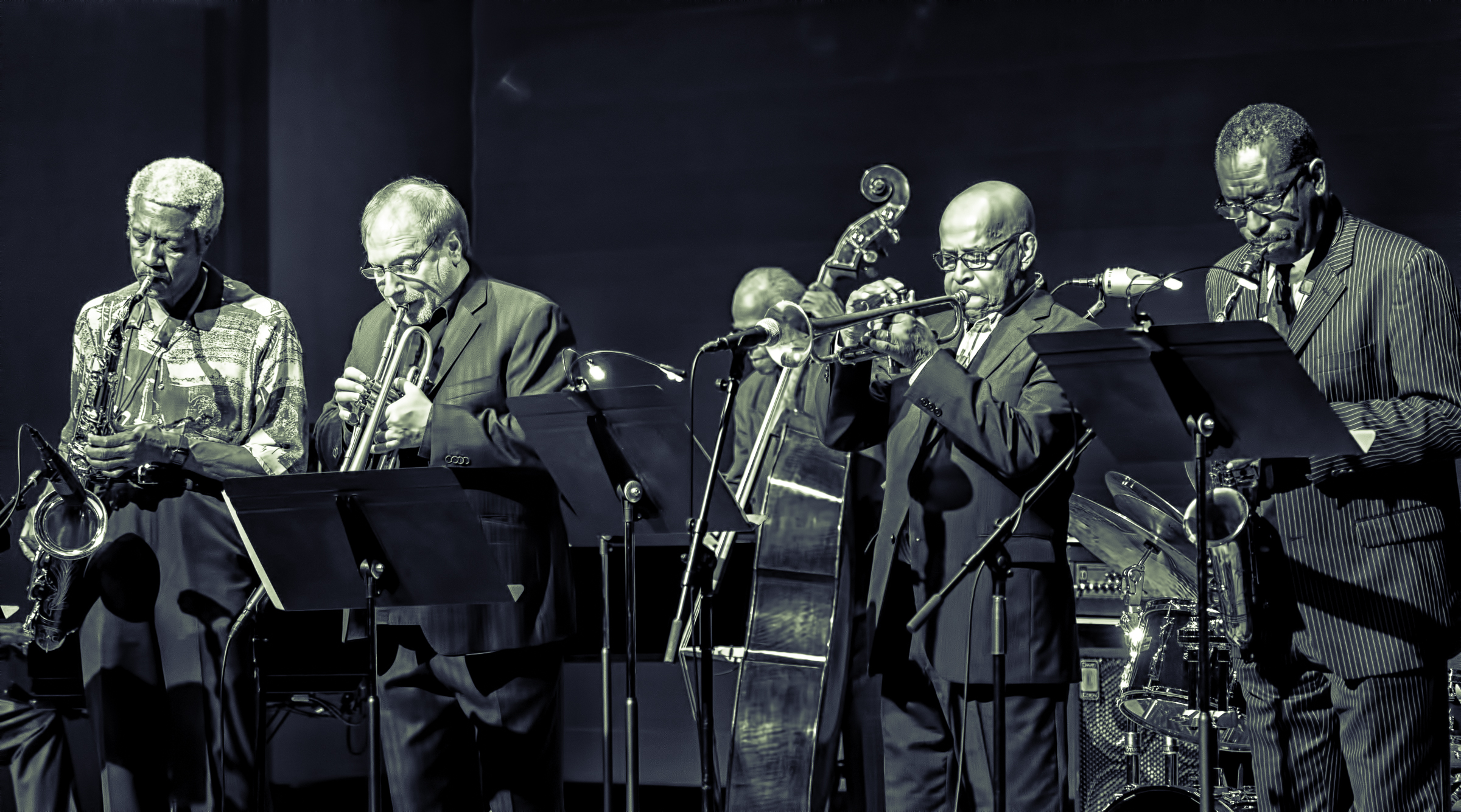 Billy Harper, David Weiss, Cecil Mcbee, Eddie Henderson, And Donald Harrison With The Cookers At The Musical Instrument Museum (mim) In Phoenix
