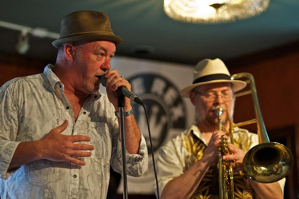 Johnny Max and John Karpenko - The Jive Bombers - The Rex - Toronto