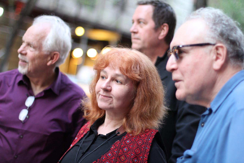 Feathery Quartet: Lena Bloch, Russ Lossing, Cameron Brown, Billy Mintz