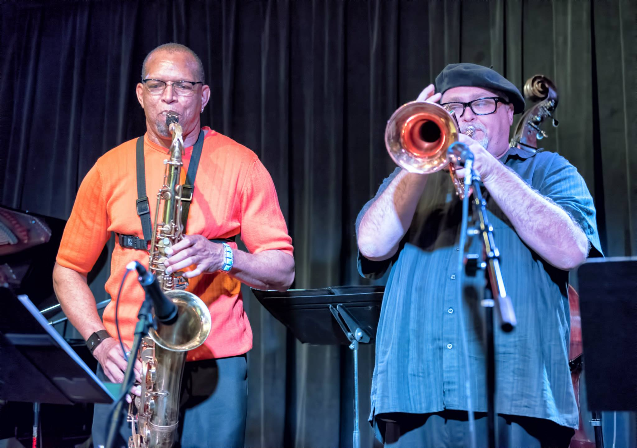 Chuck Johnson And Dmitri Matheny With The Chuck Johnson Quartet At The Nash In Phoenix
