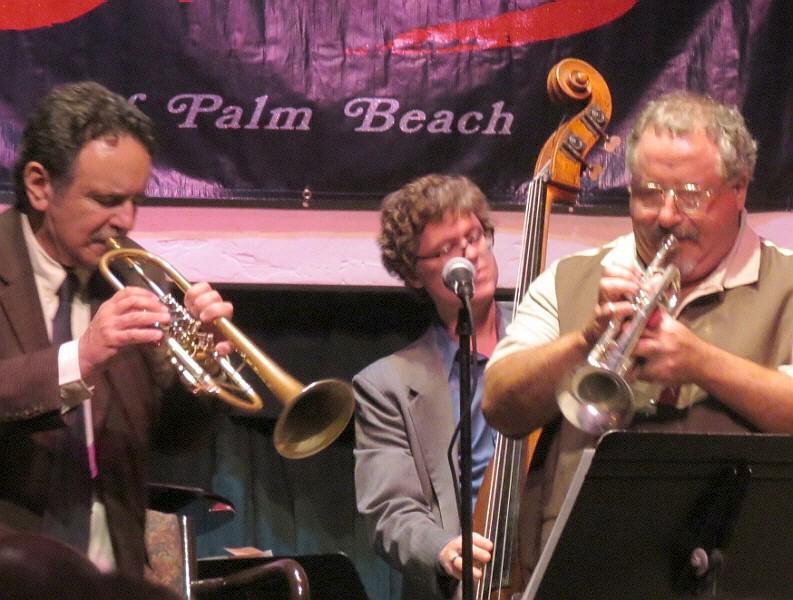 Claudio Roditi, Itaiguara Brandao, and Freddie Jacobs, Harriet Himmel Theatre, West Palm Beach, 3/27/12
