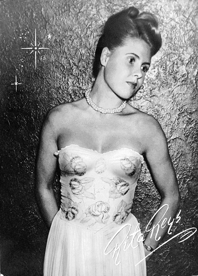 First Publicity Photo of Rita Reys