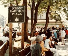 Johnny Hartman Plaza
