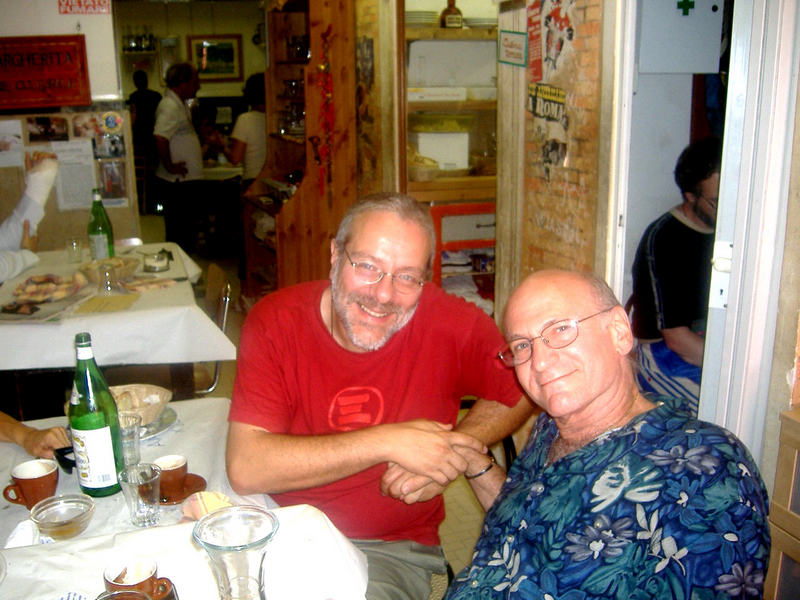With Dave Liebman in 2007