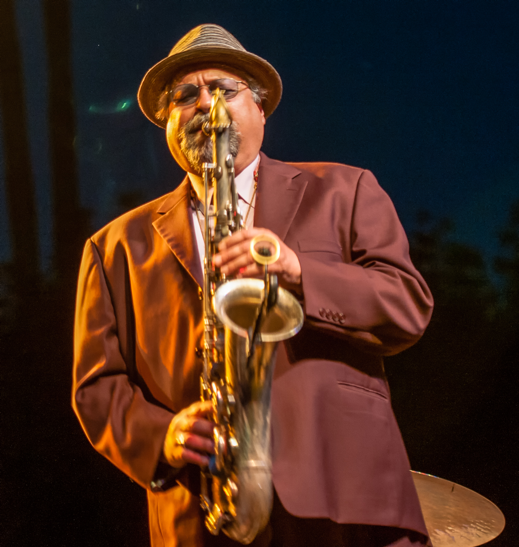 Joe lovano with the mccoy tyner quartet at the scottsdale performing arts center