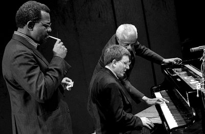 Barry Harris, Lawrence Marable and Chuck Israels. Valencia (Spain), 1991