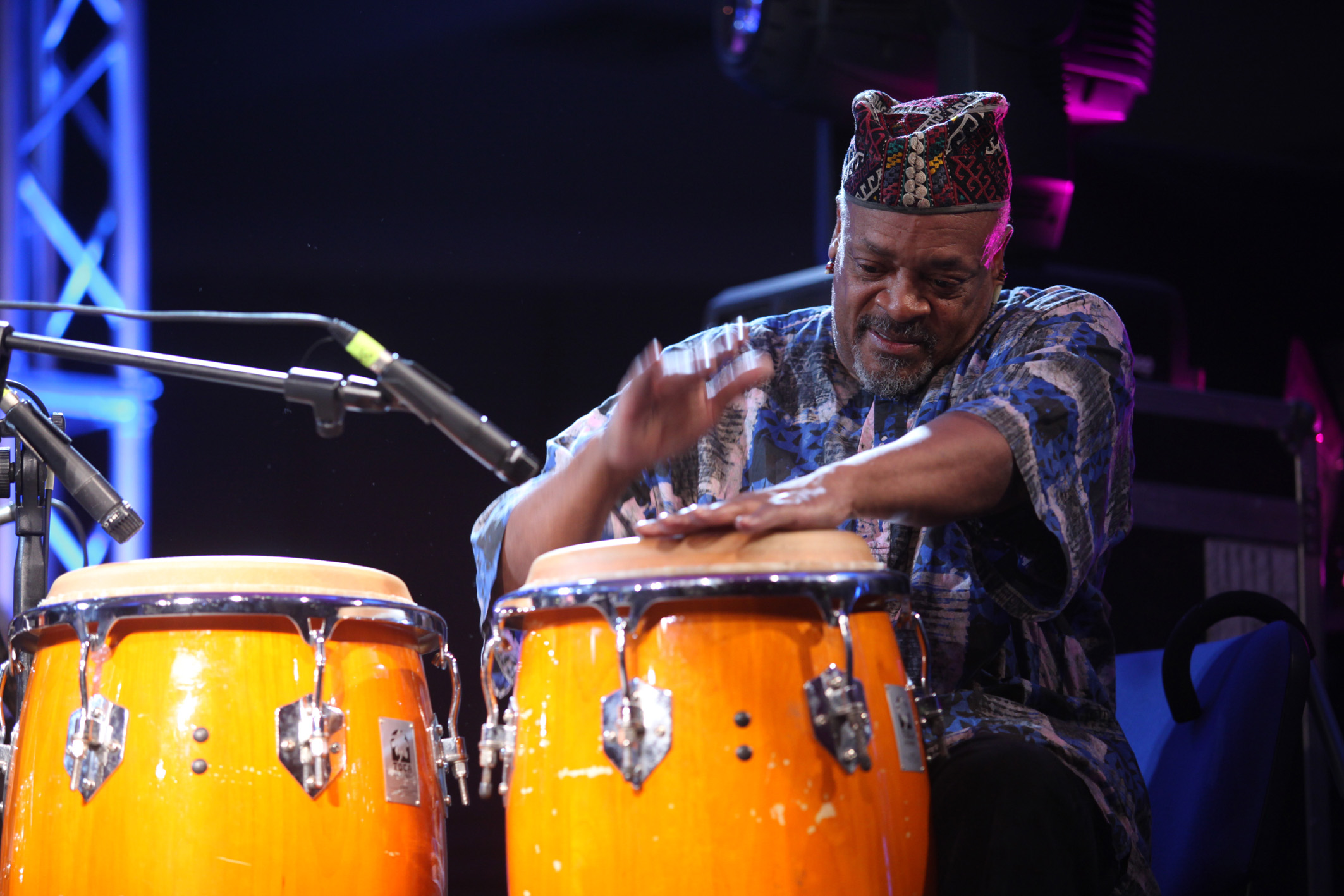 Don Moye, European Jazz Expo Sardinia