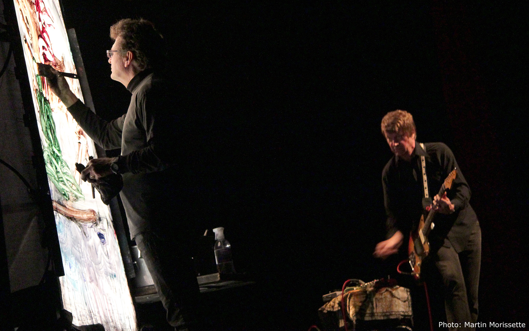 Norman Wisdom and Nels Cline at Fimav 2011