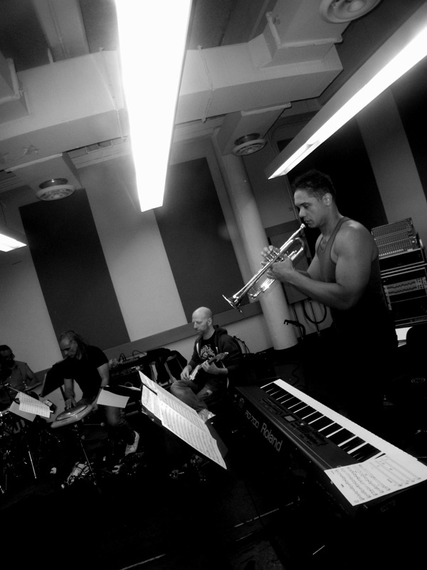 Miles in rehearsal