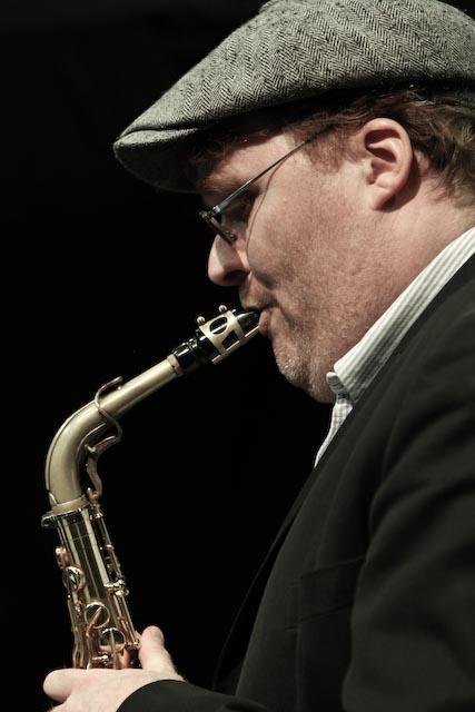 Benjamin koppel on valby summer jazz 2013 in copenhagen