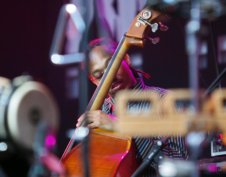 Corcoran Holt Performing With Kenny Garrett In Lviv, Ukraine, Alfa Jazz Fest, 2012