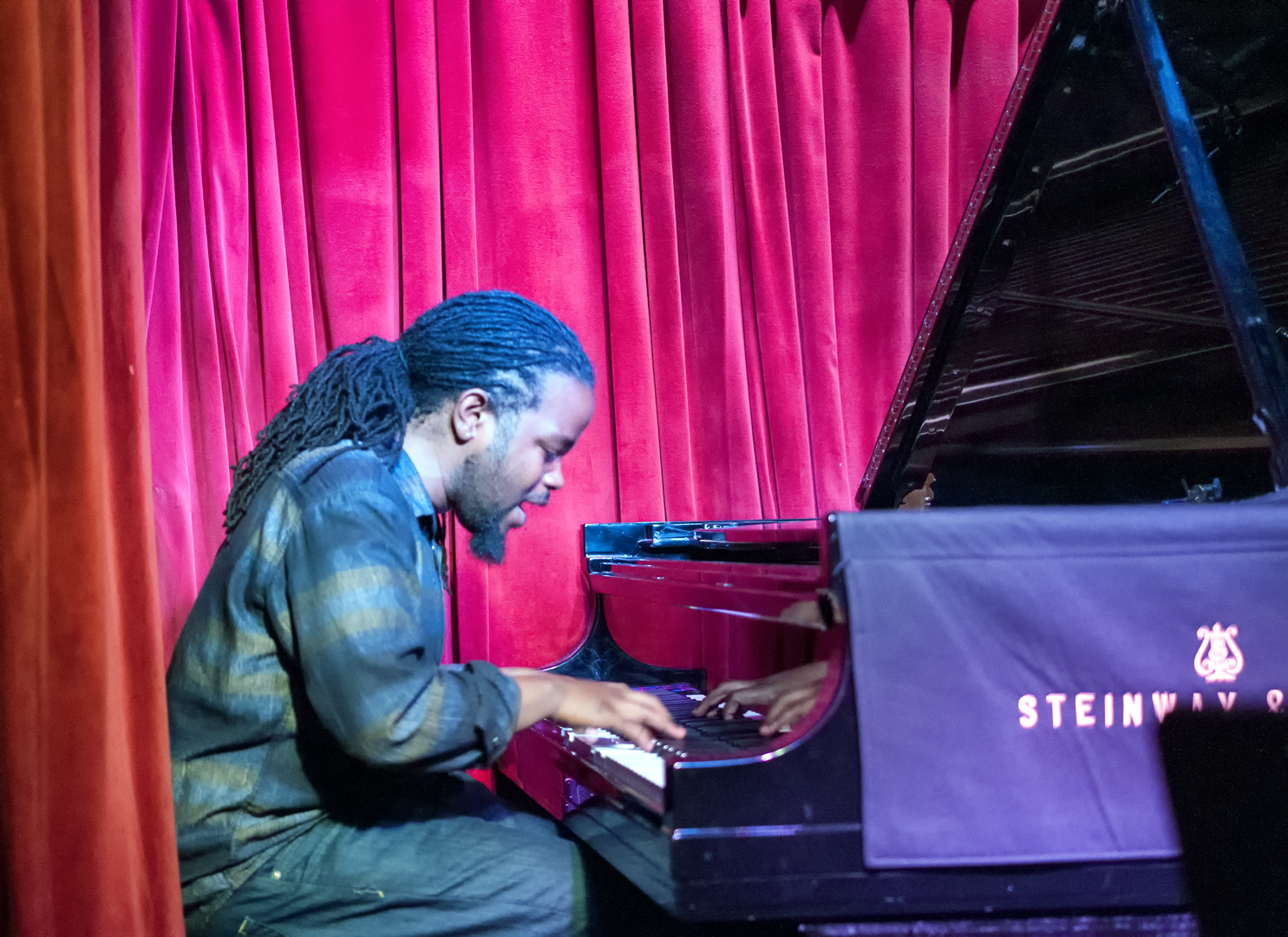 Victor Gould with Camille Thurman at Smoke Jazz Club
