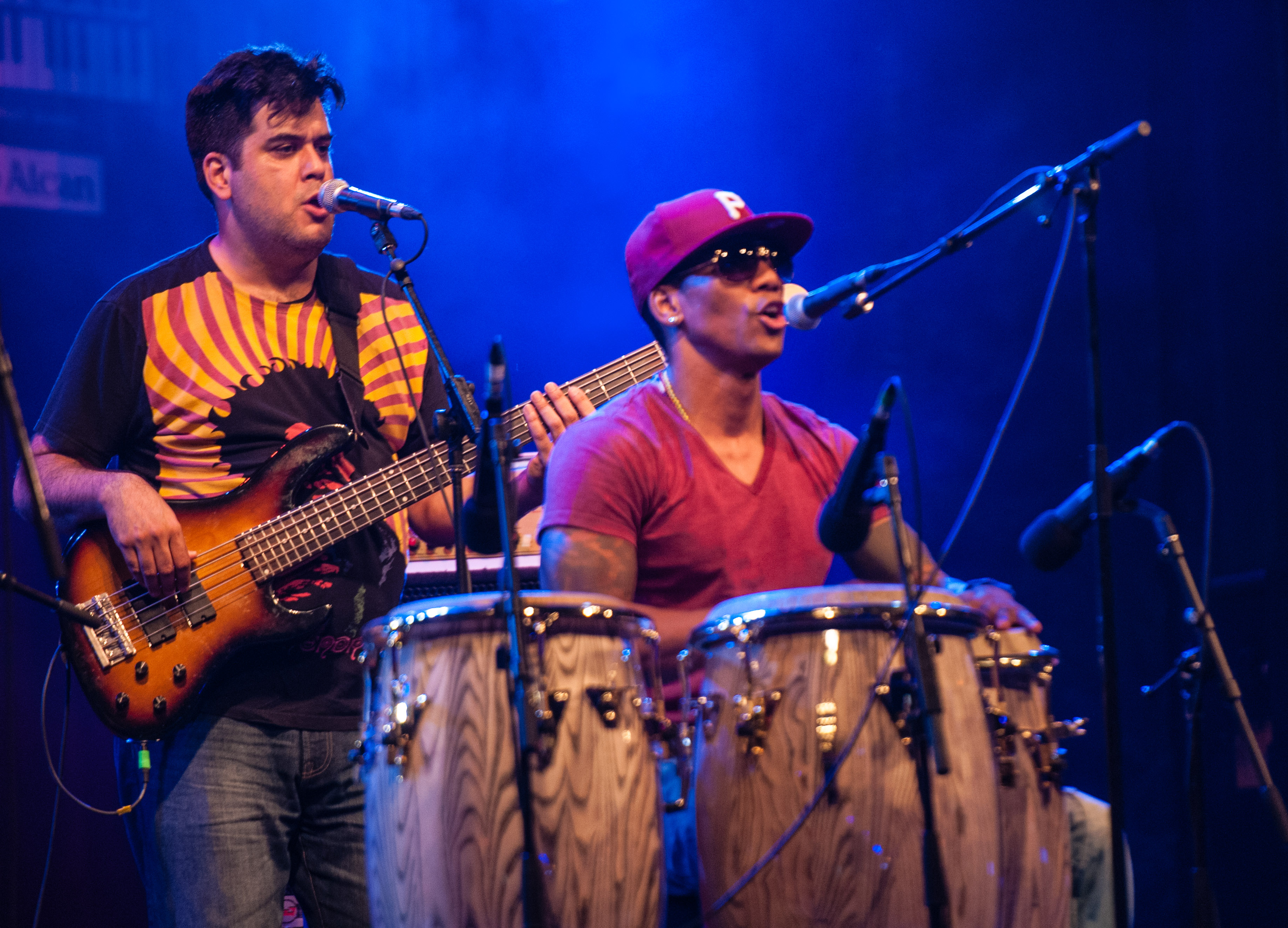 Alvaro benavides and pedrito martinez at the montreal international jazz festival 2013