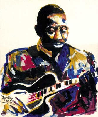 Wes Montgomery by Everett Spruill